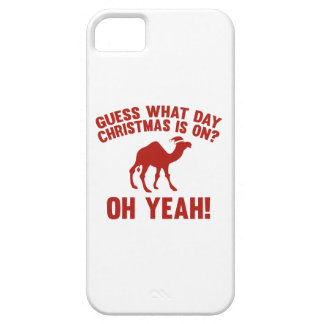 Guess What Day Christmas Is On? Oh Yeah! iPhone 5 Covers