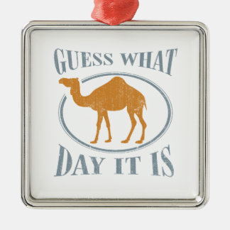 Guess what day it is christmas ornament
