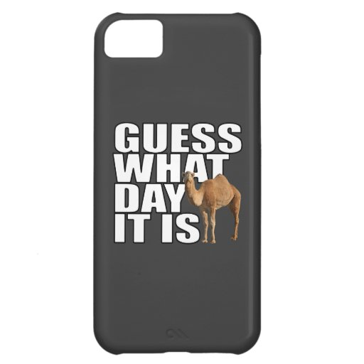 Guess What Day It Is Hump Day Camel Case For iPhone 5C