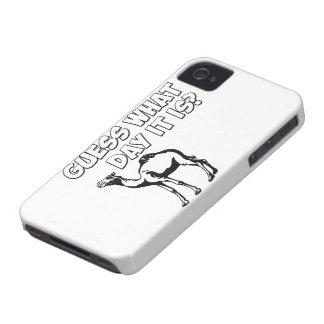 Guess What Day it Is? Hump Day Camel Case-Mate iPhone 4 Cases