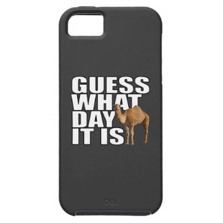 Guess What Day It Is Hump Day Camel iPhone 5 Cases
