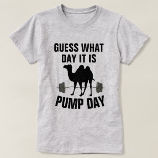 Guess What Day It Is Hump Day Gym Shirt