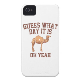 GUESS WHAT DAY IT IS iPhone 4 COVER