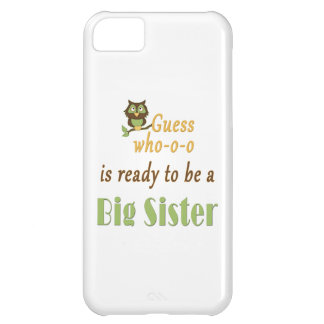 Guess Who Ready Big Sister Owl Cover For iPhone 5C