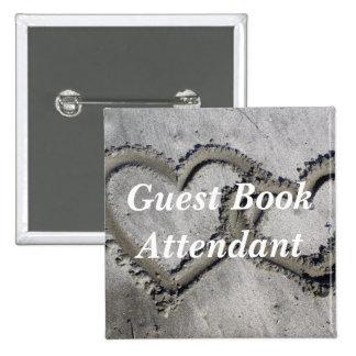 Guest Book Attendant Buttons