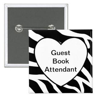 Guest Book Attendant Pins