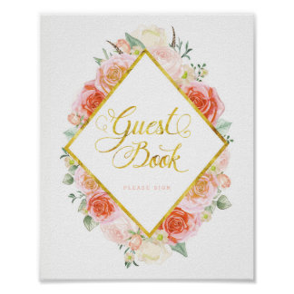 Guest Book Sign (8x10) Poster