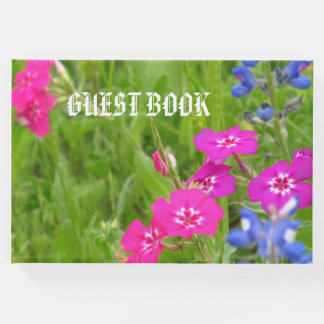 Guestbook, floral guest book