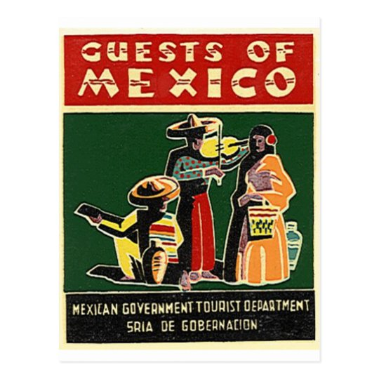 guests of mexico postcard