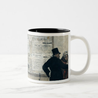 Guests Waiting for the Wedding Ceremony Coffee Mug