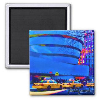Guggenheim1 Pop Square Magnet