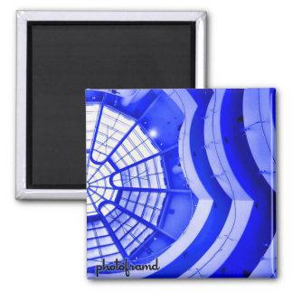 Guggenheim2 Pop Square Magnet