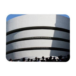 Guggenheim in NYC Rectangular Magnets