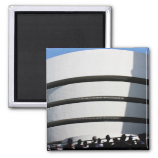 Guggenheim in NYC Square Magnet