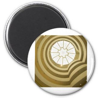 Guggenheim Museum 6 Cm Round Magnet