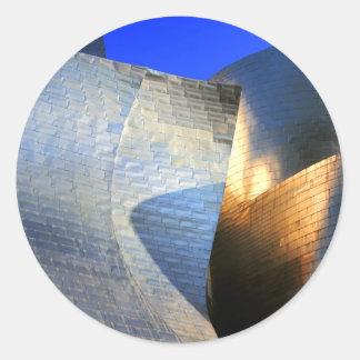 Guggenheim Museum, Bilbao Round Sticker