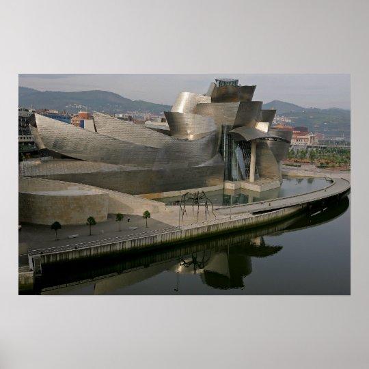Guggenheim Museum in Bilbao, Spain Poster