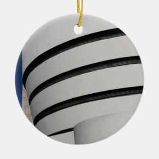 Guggenheim Museum in New York City Christmas Ornament
