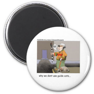 Guide Cats Funny Cat Gifts Collectibles Refrigerator Magnets