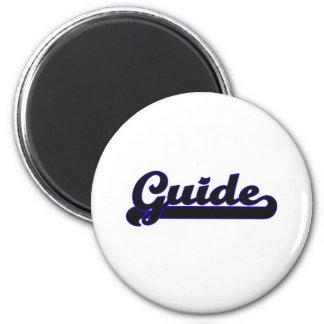 Guide Classic Job Design 6 Cm Round Magnet