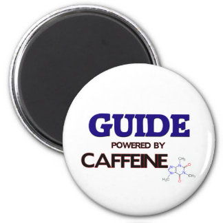 Guide Powered by caffeine 6 Cm Round Magnet