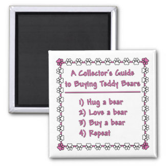 Guide to Buying Teddy Bears Square Magnet