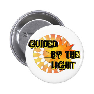 Guided by the Light 6 Cm Round Badge