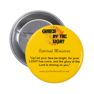 Guided by the Light Custom 6 Cm Round Badge