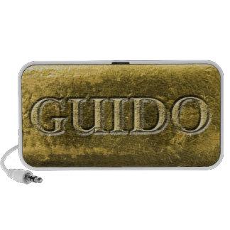 Guido Gold iPod Speaker