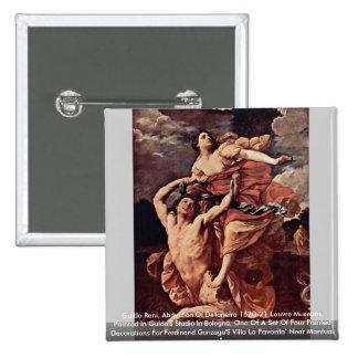 Guido Reni, Abduction Of De'Ianeira 1620-21 Louvre 15 Cm Square Badge