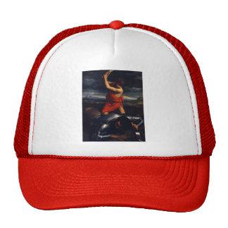 Guido Reni- David and Goliath Mesh Hats