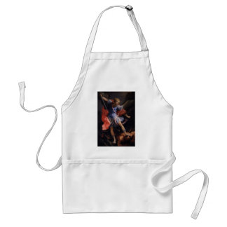 Guido Reni- The Archangel Michael defeating Satan Apron