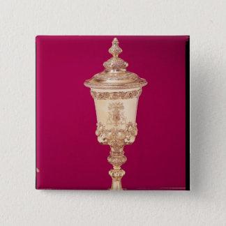 Guild cup 15 cm square badge
