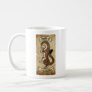 Guild of Mustelids Basic White Mug