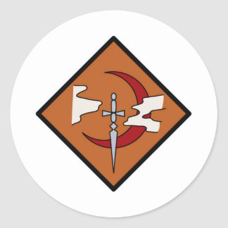 Guild Symbol Round Sticker