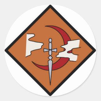 Guild Symbol Round Sticker