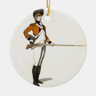 Guildhall Light Infantry Volunteer, plate 33 from Round Ceramic Decoration