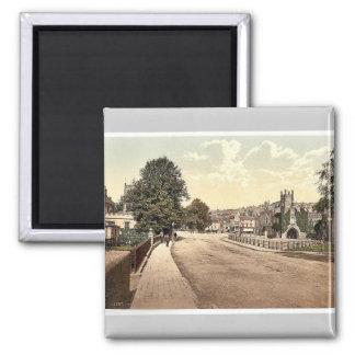 Guildhall Square, Tavistock, England classic Photo Square Magnet