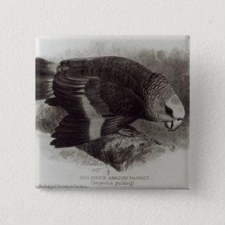 Guilding's Amazon Parrot 15 Cm Square Badge