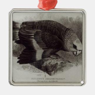 Guilding's Amazon Parrot Christmas Ornament