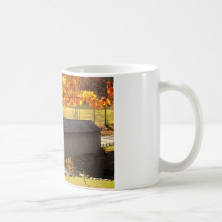 Guilford Vermont Covered Bridge Autumn Coffee Mug