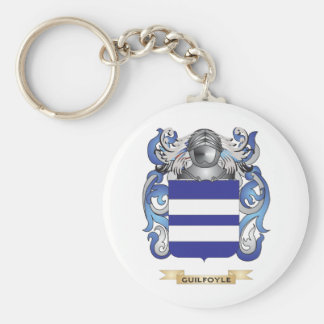Guilfoyle Coat of Arms Family Crest Key Chain