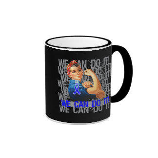 Guillain Barre Syndrome Rosie WE CAN DO IT Coffee Mugs