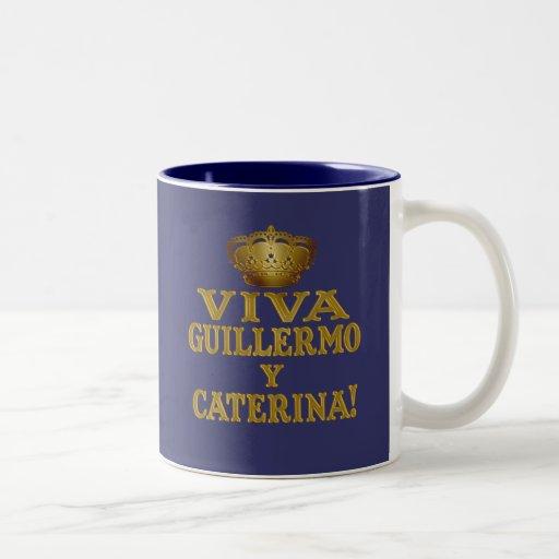 Guillermo y Caterina Boda Real Camisas y Mas Mugs