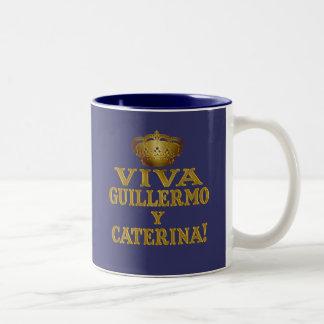 Guillermo y Caterina Boda Real Camisas y Mas Two-Tone Mug