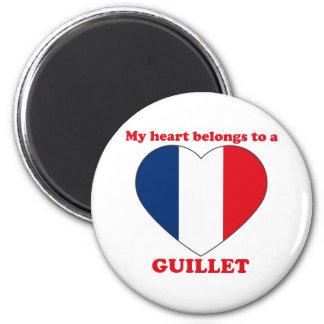 Guillet 6 Cm Round Magnet