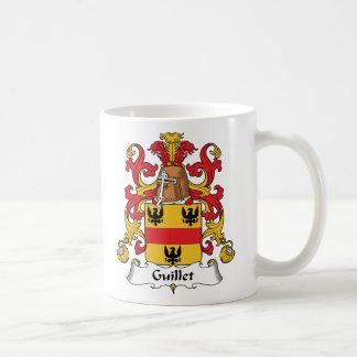 Guillet Family Crest Basic White Mug