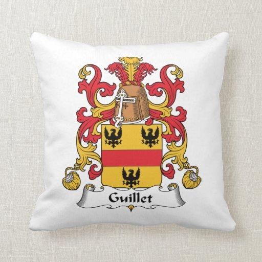 Guillet Family Crest Pillow