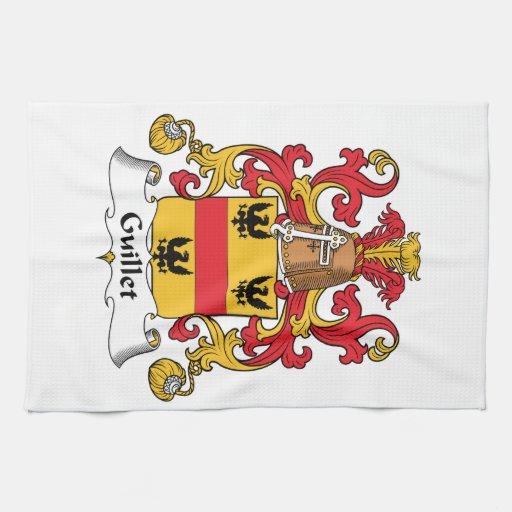 Guillet Family Crest Towels
