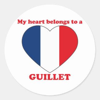 Guillet Round Sticker